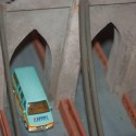 Birds-eye View of the Brooklyn Bridge, Lionel Christmas Display