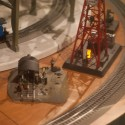 Industrial Scene: Lionel Holiday Display