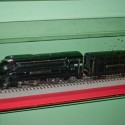 Wall mounted Lionel Locomotive