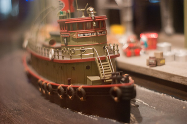Scale model of NY Central Tug Boat