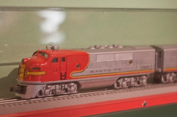 Lionel Santa Fe diesel locomotive