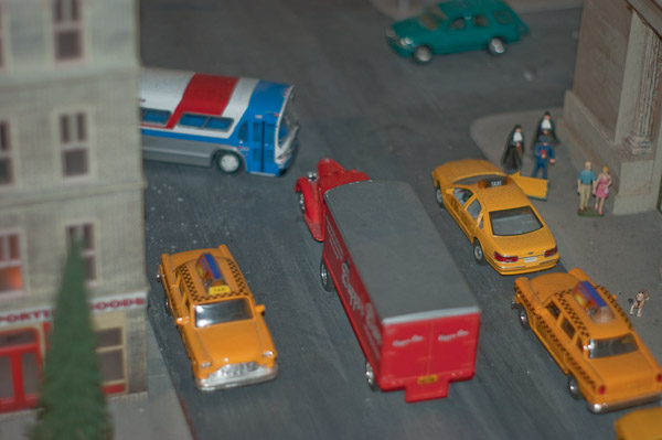 Bus and truck gridlock