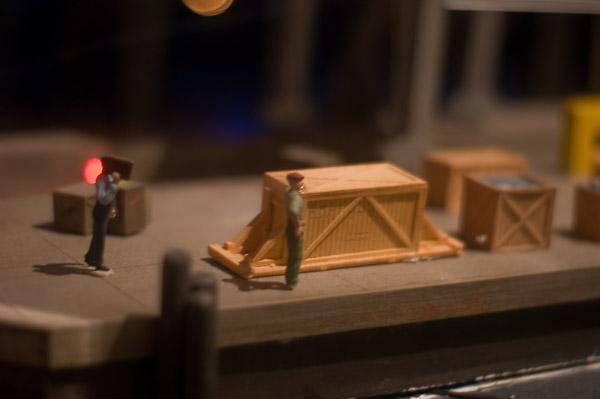 Dock Worker diorama