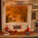 Willards Hobby Shop Lionel Diorama